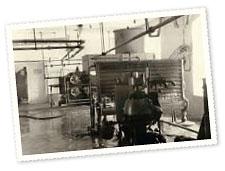 Tallinna Piimakombinaadi pastöörimise-koorimise ruum, 1948. a.